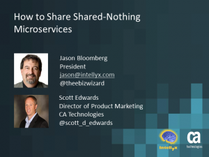 Webinar Playback: Microservices Virtualization: How to Share Shared-Nothing Microservices