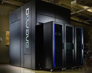 The D-Wave 2X Quantum Computer (source: D-Wave Systems).