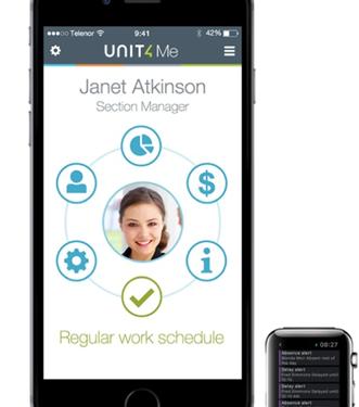 Unit4 Me Application