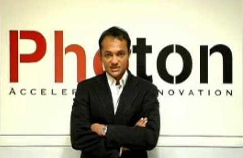 Photon CTO Mukund Balasubramanian (source: Photon)