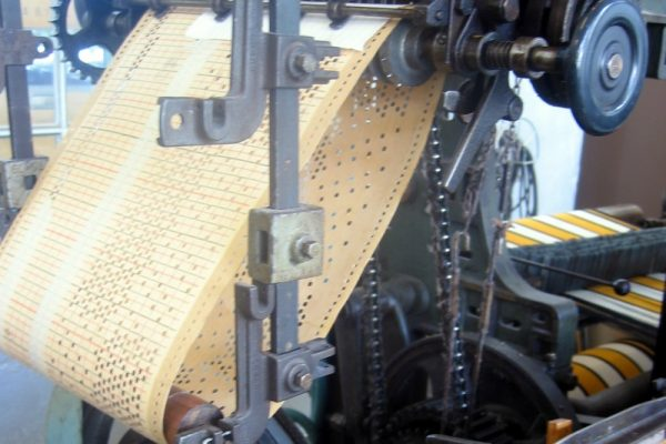 The Jacquard Loom: Early nineteenth century artificial intelligence
