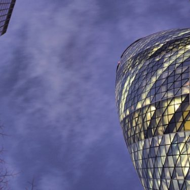 Swiss Re's iconic London building