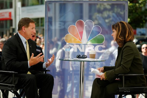 Mark Hurd talks to Maria Bartiromo on CNBC
