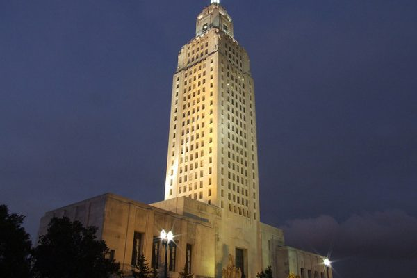 The Louisiana State Capitol
