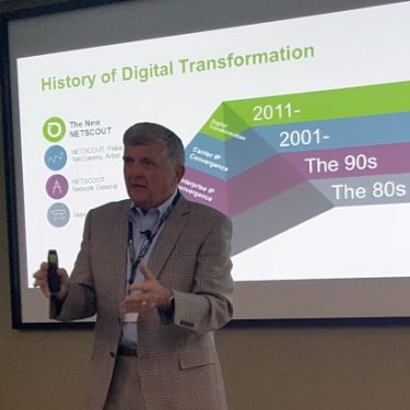 NetScout COO Michael Szabados