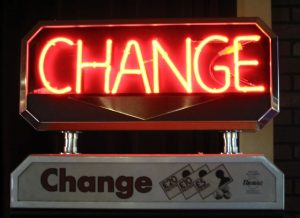 Change must become a core competency.