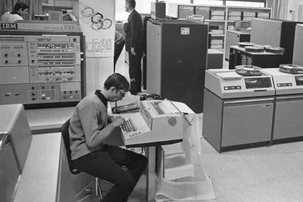 Back when all programming was 'high code.'
