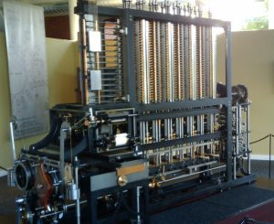 The Babbage Difference Engine. Built in 2002, 153 years after Babbage designed it.