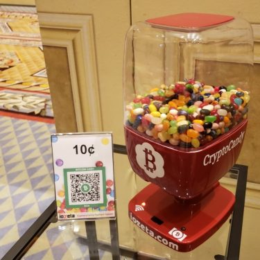 Five minutes and four password entries later you finally get your jelly beans, and you only have to pay a 10% transaction fee for the privilege.