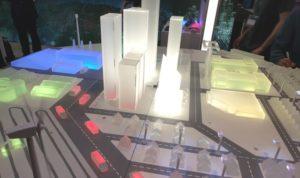 Smart city display at IoT Expo