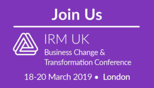 IRM UK Business Change & Transformation Conference